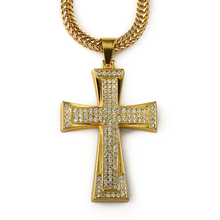 American Hip hop jewelry men or woman jewelry bling bling necklace iced out cross pendant rapper's faveriote