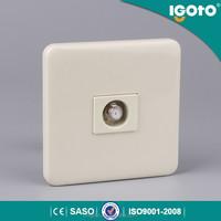 igoto 86 type 1 gang satellite universal wall socket hidden camera