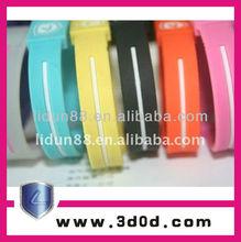 2012 fashion siloicone rubber band