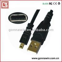 digital camera cable for oylmpus fe150 fe190 fe220 fe250 fe230 fe280 fe240 fe290 fe310 fe320