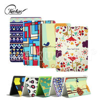H&H lovely pu leather kids case for ipad air /5 with smart standing function
