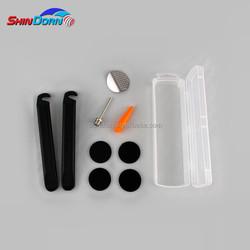 Portable bike tools repair kit to repair flat tire