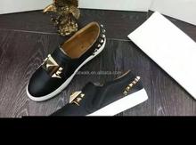 Fashion high top black men shoes 2015 hot sale men leather casual shoes men sneaker brand