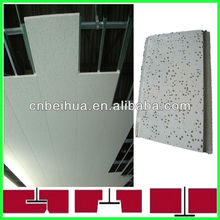 Mineral Fiber Ceiling tiles for Hospital Dedoration and Office