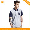 Wholesale New Design Slim Fit Polo Shirts For Men With Pocket