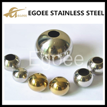 ATSM 304 hollow drilled steel ball with hole
