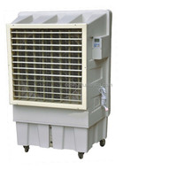 environmental protection air cooler with axial flow fan and water cooling pad