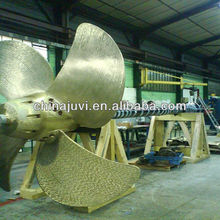 BV Approved 6000mm Four Blade Bronze Marine Controllable Pitch Propeller