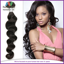 Elegance fashion Brazil real virgin raw material woven of loose hair