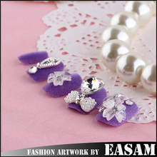 New design fashion style full cover false nail tips / full cover 3D false art nail tips