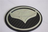 ABS Plastic chromed tank cover for pickup MAZDA bt50 2012-fuel tank cap car accessories