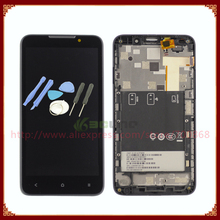 LCD Display Screen With Touch Screen Digitizer For HTC Desire 516 Assembly with Frame +Tools Free Shipping
