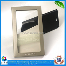 Recyclable Phone Case PVC Slide Blister Packaging Boxes