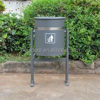China Foshan Xianglang outdoor metal garbage bin XLBN222