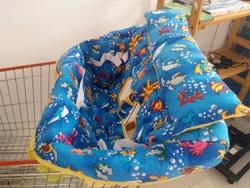 Safty cotton baby shopping cart cover