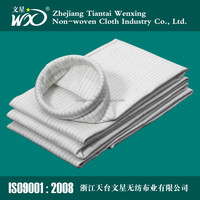 Polyester waterproof and antistatic filter bag