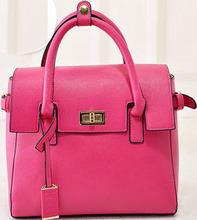 High quality women gender PU tassel handbag/tote bag wholesale