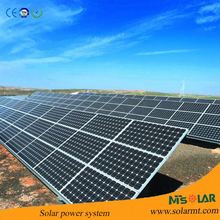 ground solar panel mounting system, frames,bracket, kilowatts,Al track, pile,Factory price
