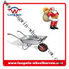Light duty metal wheelbarrow frame