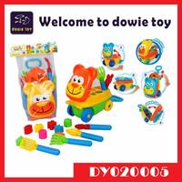 2015 New Summer Sand Beach Toys Educational Plastic Beach Tool Car Building Block Toys