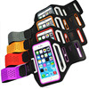 New Running ultra thin slim waterproof sport armband for iphone 6 6s inch with key holder and breathable mesh hole