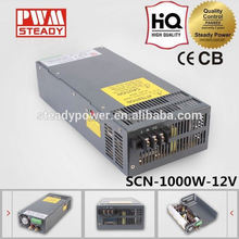 SCN-1000-12 Single output switching mode 1000w power supply 12v