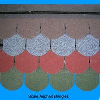 asphalt roofing shingles fish scale standard tiles