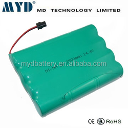 ni-mh sc 2500mah 14.4v rechargeable battery
