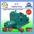 Entero auto fabricación de ladrillos precio de la máquina automática JKRL45 arcilla sólida fabricación de ladrillos de máquina