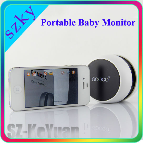 high quality mini portable googo baby monitor buy baby monitor product on. Black Bedroom Furniture Sets. Home Design Ideas