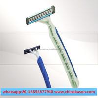 twin & triple blade shaving China jail prison single blade razor wholesale (personal care & Medical use)