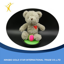 2015 wholesale custom cheap animal toy chubby plush bear