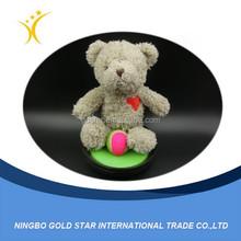2015 wholesale hot sell custom fashion cute cheap best made stuffed bear