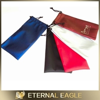 hot recommend new design hot selling microfiber mobile phone pouch,woodpulp glass cleaning cloth