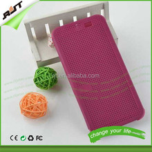 Dot view flip smart case cover for htc one m9,factory price cell phone case for htc m8 m9 dot view phone case