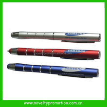 Highlighter stylus pen with rubber tip