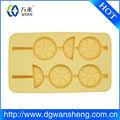 ice cube bandejas de impresión logotipo personalizado de silicona/helado de limón bandeja de cubitos