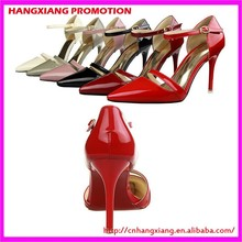 Patent Leather Heels Low Price Retail Latest Ladies Sandals Sexy Spiked High Heels