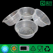 Plastic Container Used as Package for Airline Food 625ml