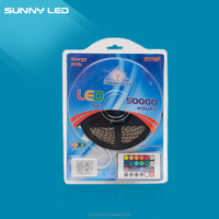 12V 5050 RBG Suit SMD 5050 waterproof 150leds/5 meters 300 leds/ 5 meters led controller flexible RGB led strip