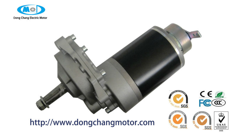 Electric Motor With Brake 12v Dc Motor With Gear