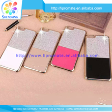 100% Brand new phone custom bling PC leather case cover for iphone5s