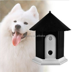 Pet Dog Outdoor Ultrasonic Bark Stop Deter Nuisance Control Anti Barking House
