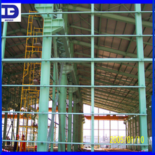 light weight two story steel structure warehouse