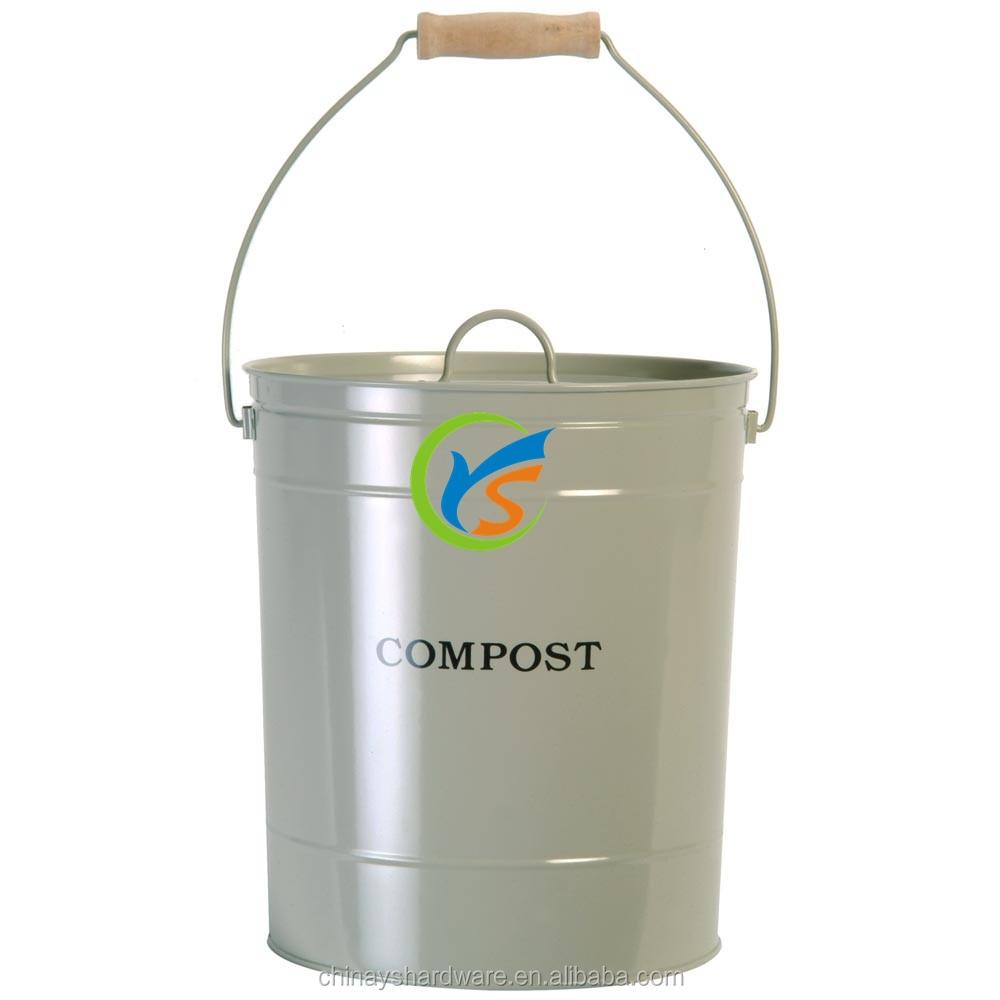 China hete verkoop metalen keuken compost bin afvalbakken product ...