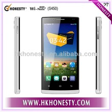 """Made in China 4GB White 3G Unlocked Mobile Phone 4.5"""" Dual Core"""