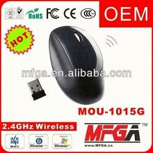 2.4g cordless optical mouse