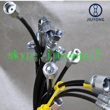 1/8 NPT male micro bore hose (300bar working pressure)