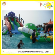 2015 outdoor giant inflatable water park, inflatable raft