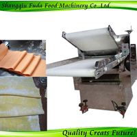 Stainless steel Automatic Continuous Dough Rolling Machine